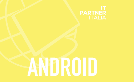 SVILUPPATORE NATIVE ANDROID